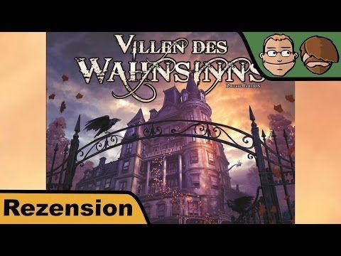 Villen des Wahnsinns – Zweite Edition – Review #235   Hunter & Cron