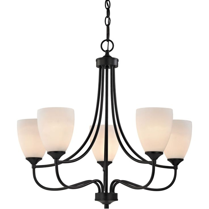 Arlington 5-Light Chandelier in Oil Rubbed Bronze | Cornerstone Lighting | Home Gallery Stores