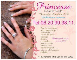 ESTHETIQUE SOIN DE BEAUTE FAUX ONGLES MAKE UP 14 MARECHAL JOFFRE ANTIBES JUAN LES PINS FRANCE V.i.p. ♥ Déplacement personnalités célébrités ♥ À partir de 250 € http://www.princesse-institut.sitew.com/ http://princessegenevievelambert.sitew.com/ http://princesse-dermopigmentation.sitew/... http://princesseinstitut.blogspot.com/