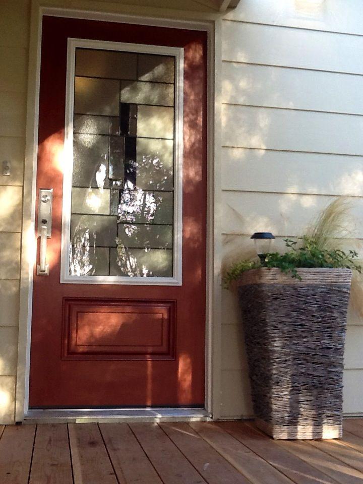 Hand Painted Metallic Copper Door Finish In 2019 Paint