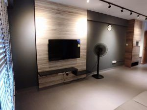 interior doctor modern minimalistic scandinavian TV feature wall  My dream home  Pinterest