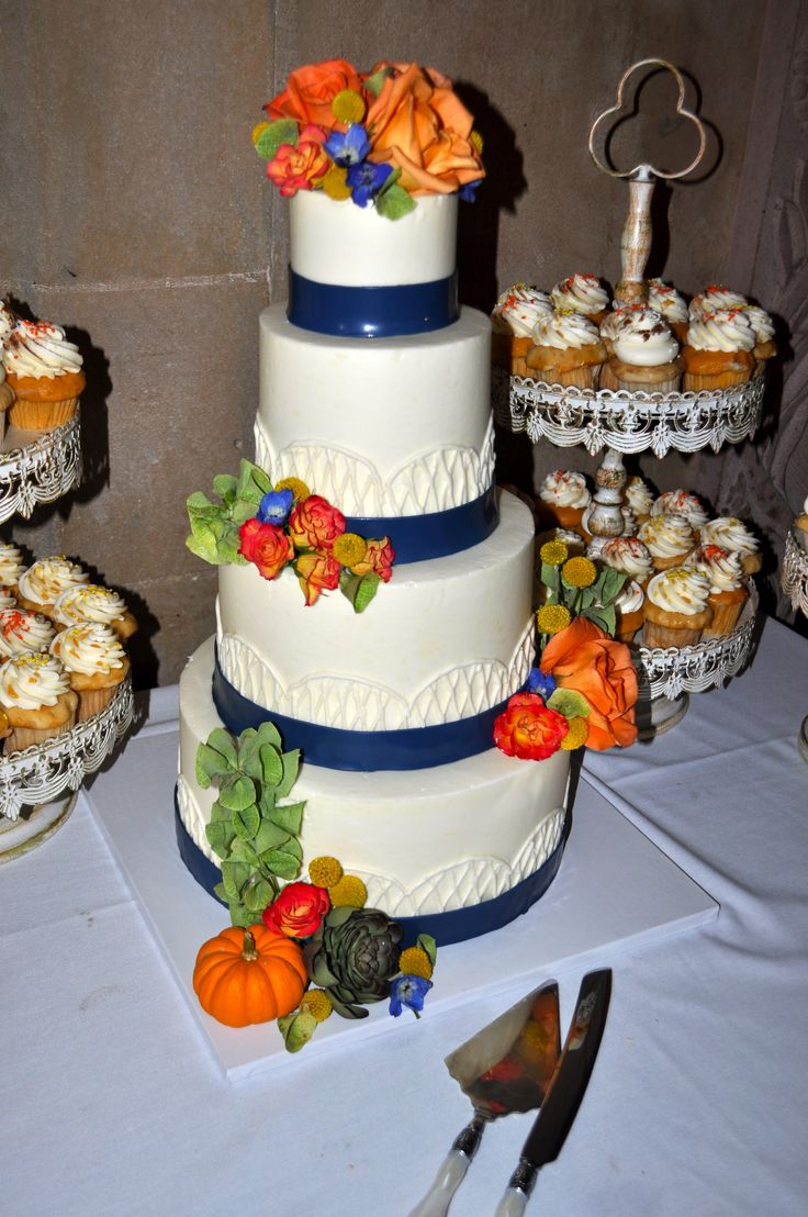 wedding cake with orange flowers 78 images about custom celebration cakes amp cupcakes on 26931
