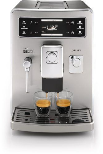 BEST DEAL Philips Saeco HD8944/47 Xelsis Automatic Espresso Machine, Stainless Steel Espresso ...