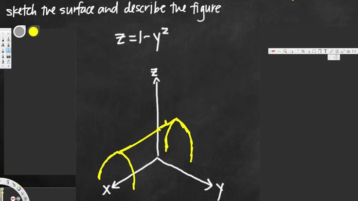 Sketching the quadric surface - Vector Calculus #2