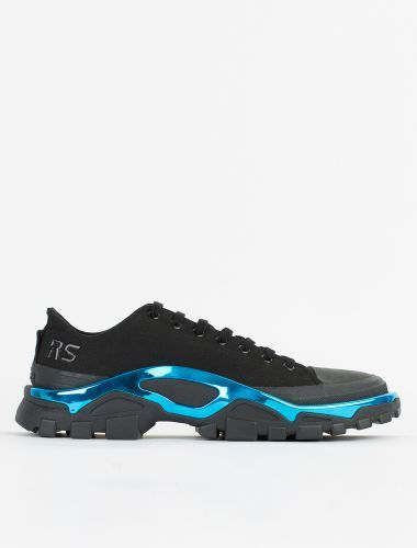 size 40 ce72e 176a8 Adidas by Raf Simons RS Detroit Runner Core BlackElectric Blue