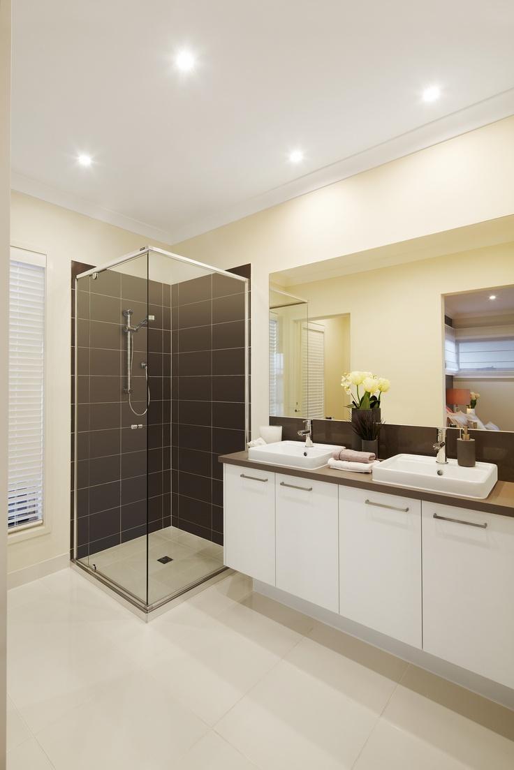 Bathroom colours blown & white