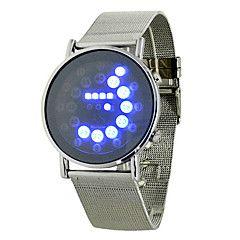 Fashion+Men's+Black+Alloy+Date+Digital+LED+Watch+Bracelet+Sport+Watches+–+USD+$+15.99