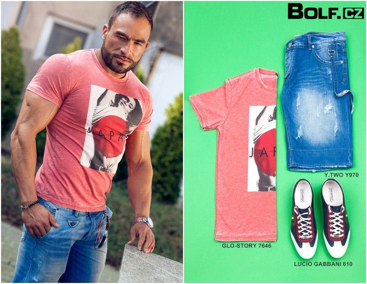 Nechte se inspirovat! Džínové šortky a t-shirt tvoří nejpopulárnější kombinaci pro slunečný a teplý dny. Sledujte nové informace.