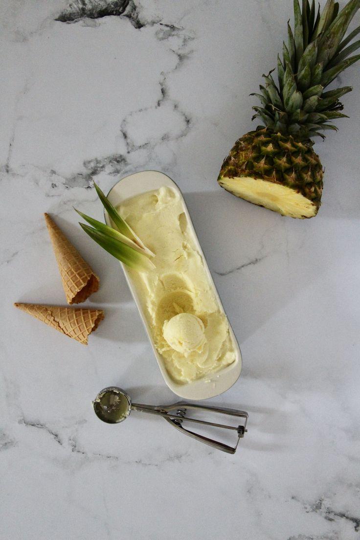 Le Sorbet Ananas | Recette en 2020 | Recette biscuit facile, Gâteau fait maison, Ananas
