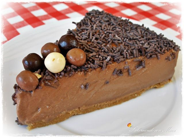 Tarta fresca light de chocolate y queso batido 0/0
