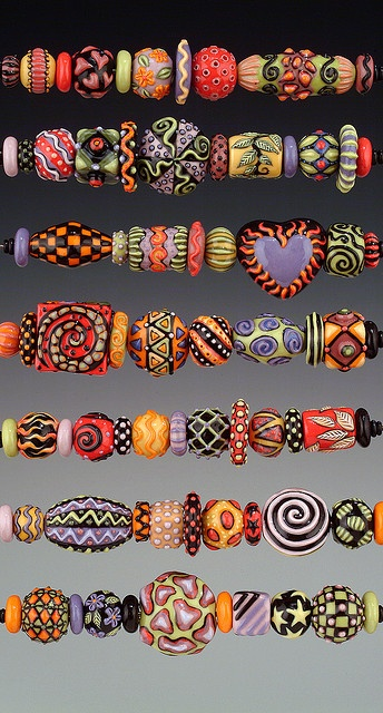 Great colors and shapes ... | Beads | Beaded Items & Jewelry