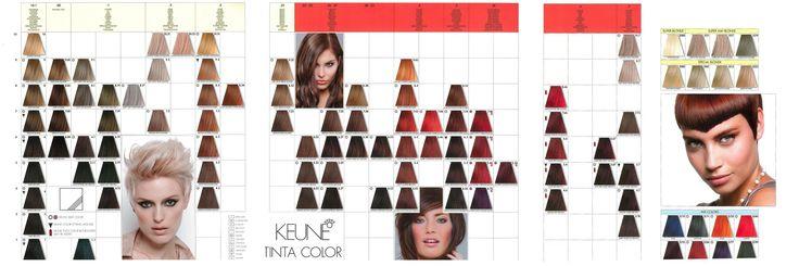 Keune Tinta Color Shades Chart Hair Color Chart Shade Card Keune Hair Color Chart 2020