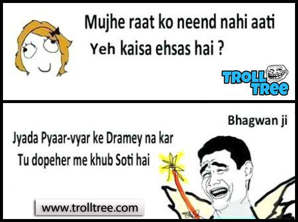 share boys vs girls romantic hindi jokes http