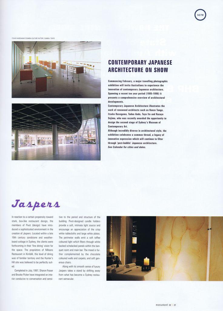 Monument #22 Page 1 Brooke Aitken Design