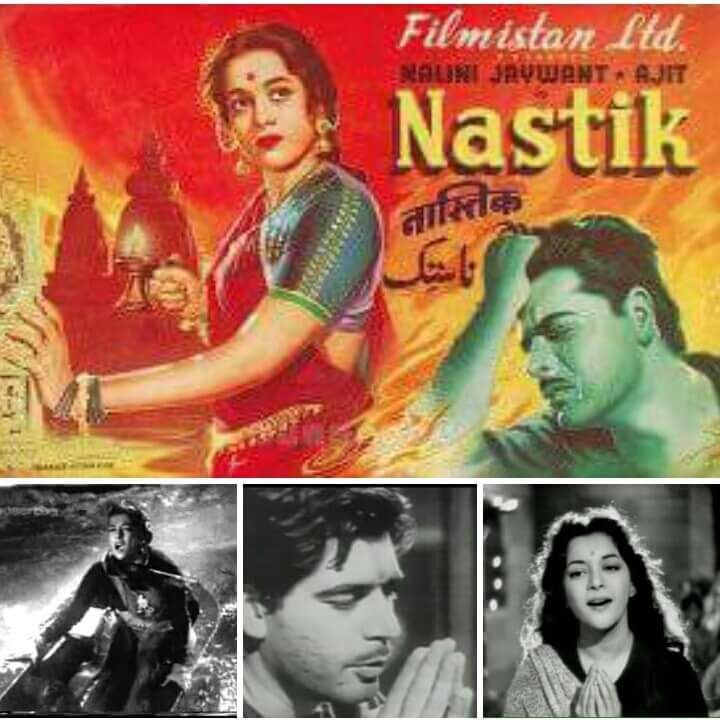 Nastik is a 1954 Hindi social crime drama film written and directed by I. S. Johar. It was produced by Filmistan Ltd. under the Shashadhar Mukherjee Productions banner. Its cinematographer was...