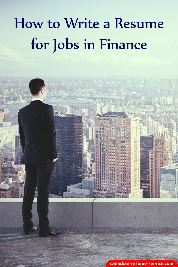 How to Write a Resume for Jobs in Finance to Get I…