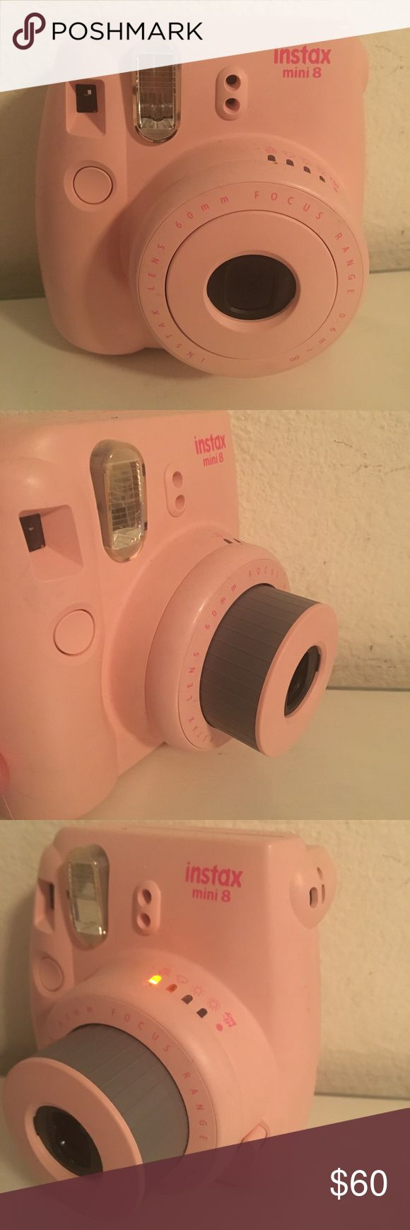 Fujifilm instax mini Fujifilm instax mini 8 instant camera (pink), never really used it so looking to sell Other