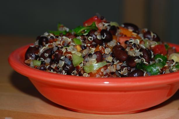 Quinoa Black Bean Salad: Beans Salad Recipes, Black Beans Salsa, Black Beans Salad, Beans Quinoa, Black Bean Salsa, Mr. Beans, Salsa Salad, Quinoa Black, Black Bean Salads