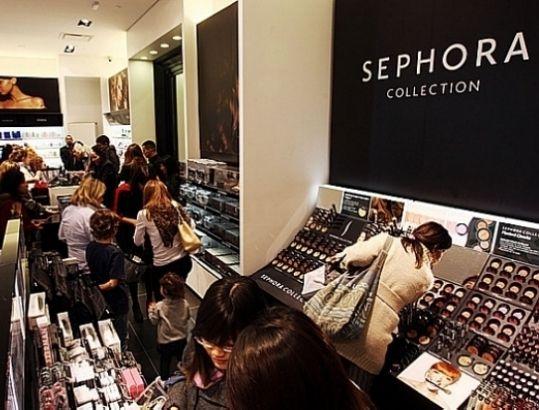 Sephora reduz preços até pela metade nas lojas do Brasil