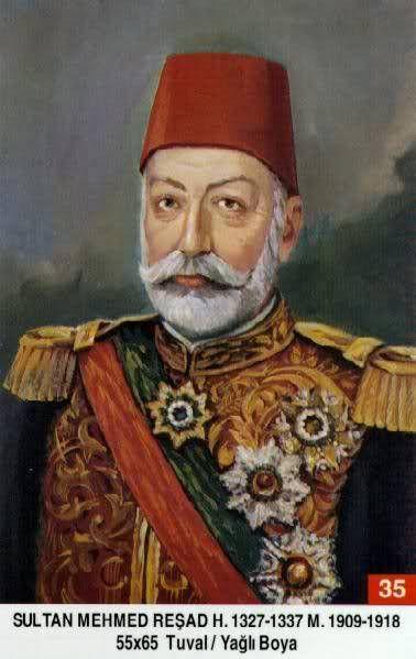 Osmanlı Padişahlarının Resimleri ve Kısa Bilgiler..