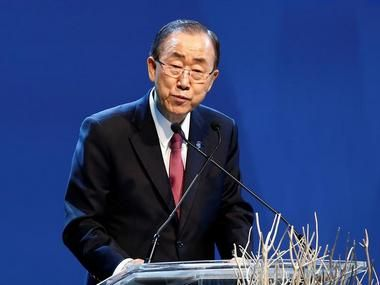 "United Nations: UN chief Ban Ki-moon on Monday lauded India for its ""swift action"" over the decision to ratify the Paris pact on climate change, saying he is looking forward to receiving New Delhi's instrument of accession. ""The Secretary-General has made clear his hopes for the ratification of t..."