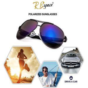 UV400 Polarize Kaplama Aynalı Erkek Güneş Gözlüğü