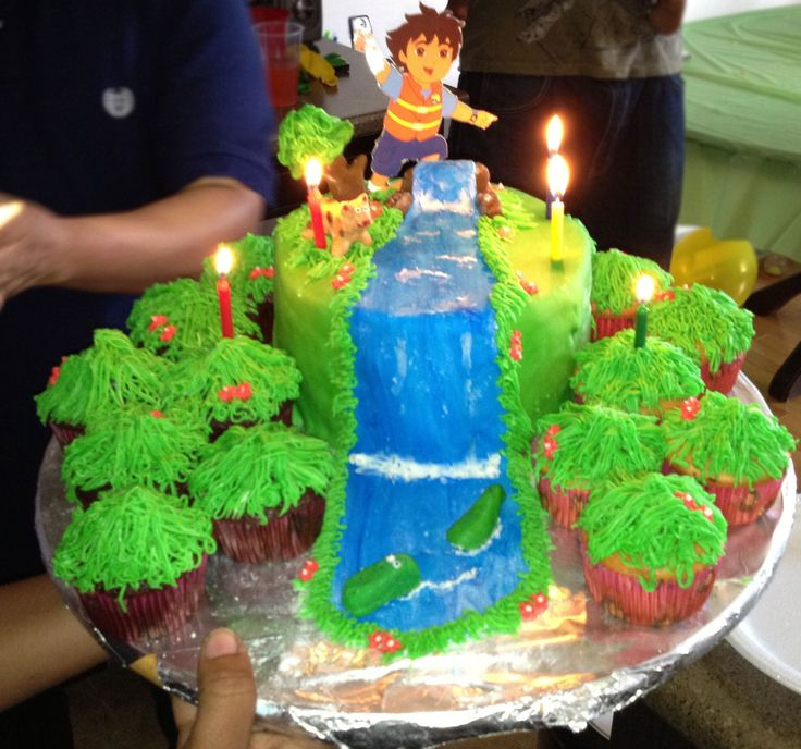 Diego themed Cake.