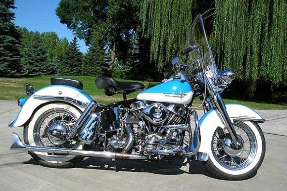 Classic Harley Davidson.....Panhead - love it !!!!
