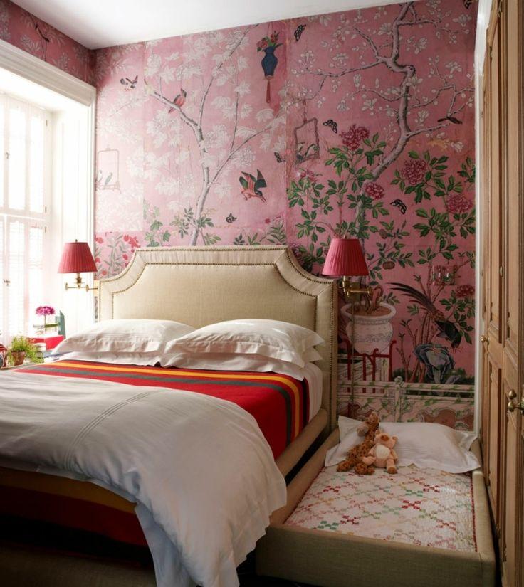 die besten 25+ tapeten für schlafzimmer ideen auf pinterest