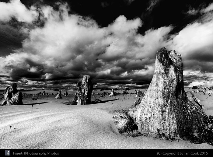 The Pinnacles at Nambung National Park, Western Australia.