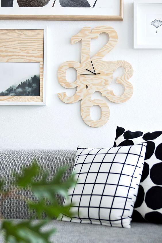 31 besten Wanduhren Bilder auf Pinterest Wandtattoo uhr - wanduhr design wohnzimmer