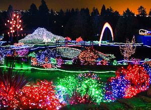 Zoo Lights, Point Defiance Zoo & Aquarium, Tacoma, WA