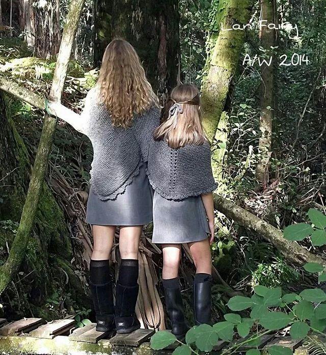 Vestidos y ponchos de Lan Fairy