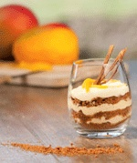 mango mascarpone dessert