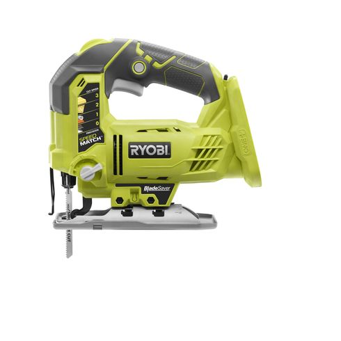 We love the 18V ONE+ Orbital Jig Saw from RYOBI! It's amazing for those detailed projects, and increases your blade life with its drop down base design. Purchase at http://www.homedepot.com/p/Ryobi-18-Volt-ONE-Orbital-Jig-Saw-Tool-Only-P523/204824014