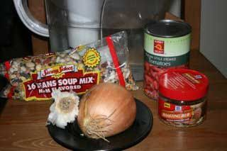 A Year of Slow Cooking: CrockPot 16 Bean Soup Recipe...This is a good basic recipe, especially if you have kids! :o)