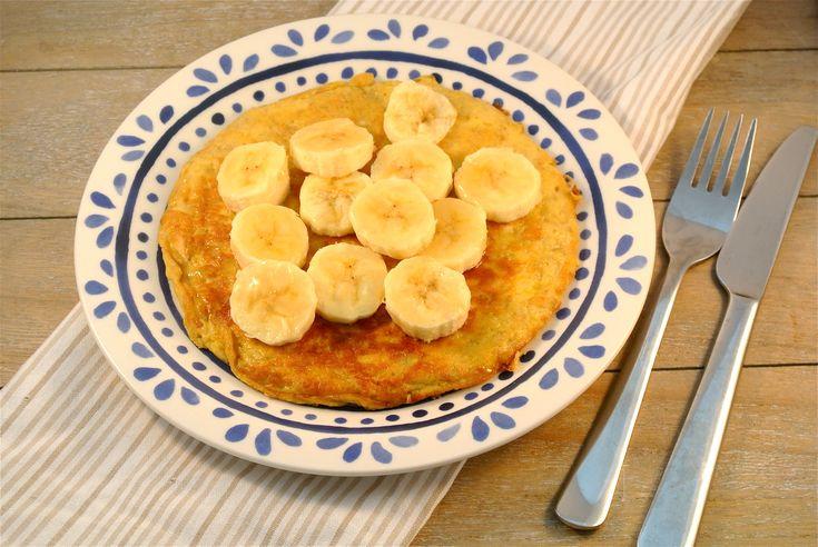 gezonde bananenpannenkoek