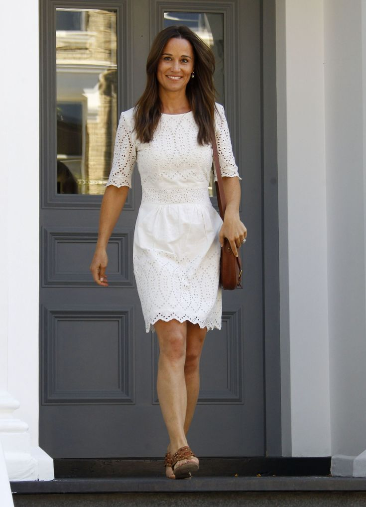 Pippa Middleton | Sommerkleid, Pippa middleton, Kleid nähen