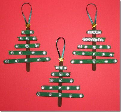 stick christmas ornaments: Sticks Christmas, Crafts Ideas, Christmas Crafts, Christmas Ornaments, Christmas Trees, Christmas Ideas, Popsicles Sticks, Popsicle Sticks, Kid