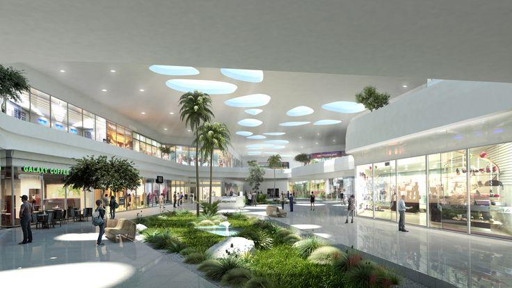 Centro Comercial - Plaza Comercial - Commercial Center - Mall - EVA3D