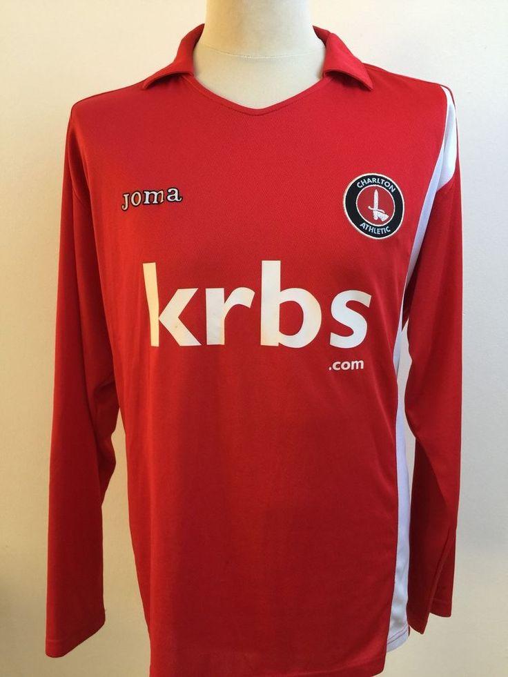 CHARLTON ATHLETIC 2009 Football Shirt HOME Size XL Long Sleeve  | eBay
