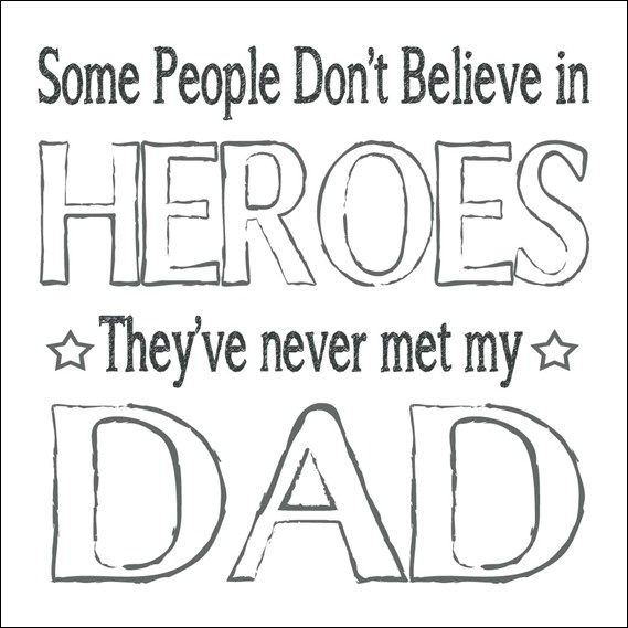 Last minute Father's Day free printable. Print it out and ...