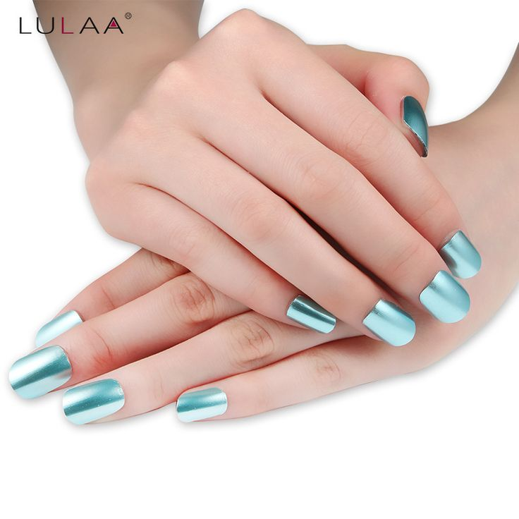 LULAA 6ml Mirror Nail Polish Plating Paste Metal Color Stainless Steel Nail Polish For Nail. Click visit to buy #Nail #Polish #NailPolish