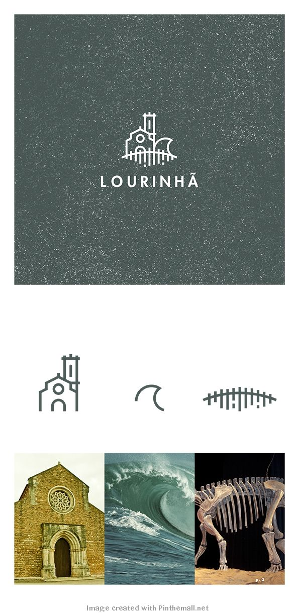 Local contest. Branding for Lourinhã, Portugal by Cláudio Ferreira + João Veríssimo https://www.behance.net/gallery/7411033/A-Marca-Lourinha