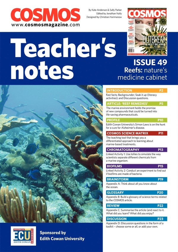 Teachers Notes INT : Issue 49, Page 1