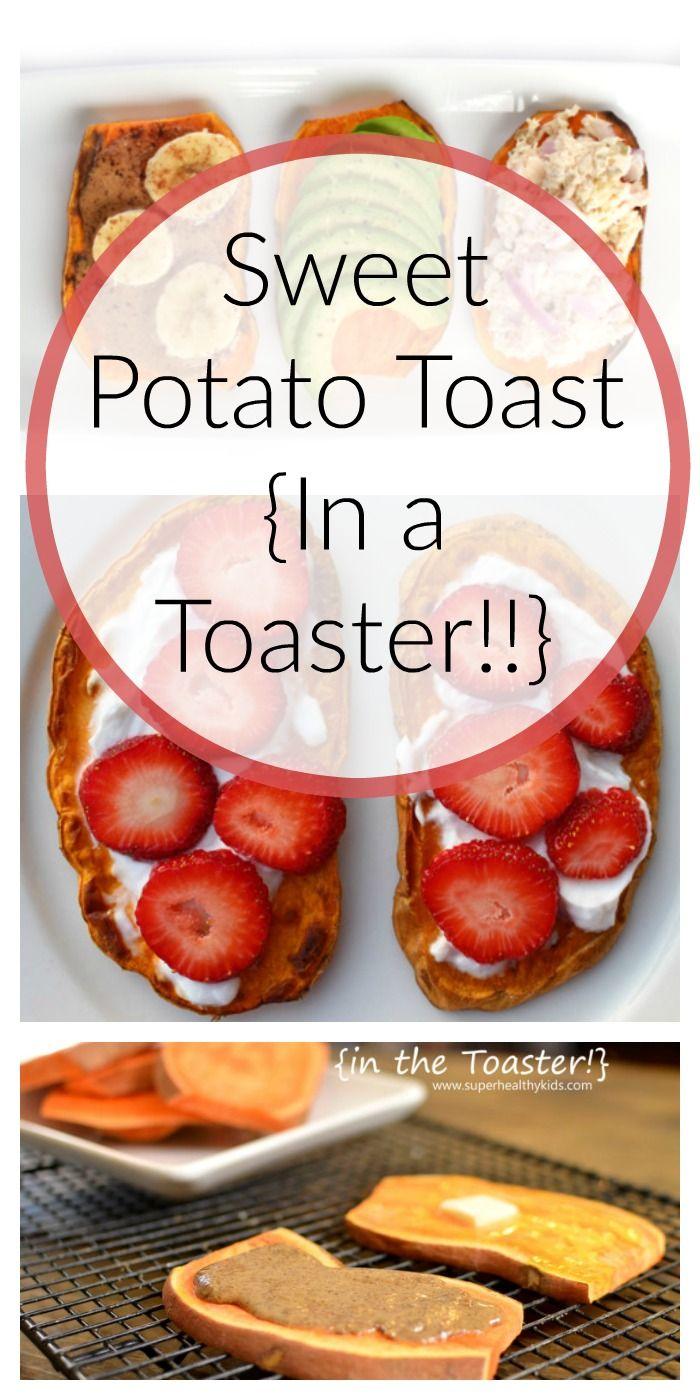 Sweet Potato Toast {In a Toaster!!}