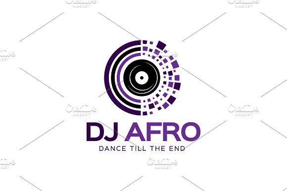 Dj Afro Logo Logo Design Template Logo Inspiration Vintage Dj Logo