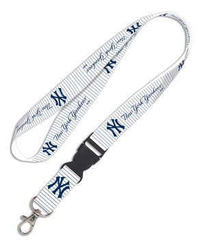 Love this New York Yankees White Lanyard by WinCraft on #zulily! #zulilyfinds