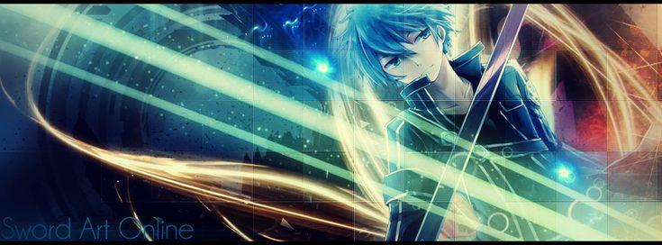 Sword Art Online.. Kirito Signature