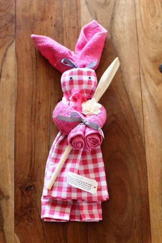 Kitchen Tea Towel Bunny by Smallgirlsinck on Etsy   11 0024 best Kitchen Tea Ideas images on Pinterest   Tea ideas  Bridal  . Great Kitchen Tea Gift Ideas. Home Design Ideas
